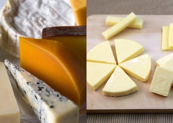 ナチュラルチーズとプロセスチーズの違いって何?